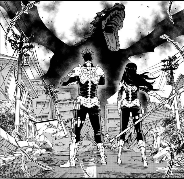 Kaiju No.8 chapter 2 - Kafka's dream