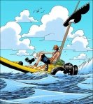 One Piece chapter 300 - Ace's adventure