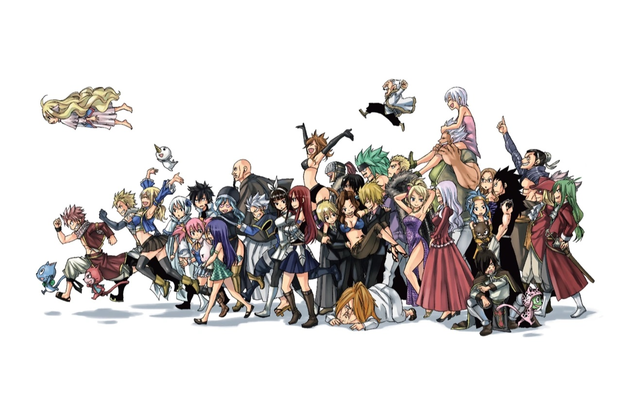 Fairy Tail chapter 377 - color spread