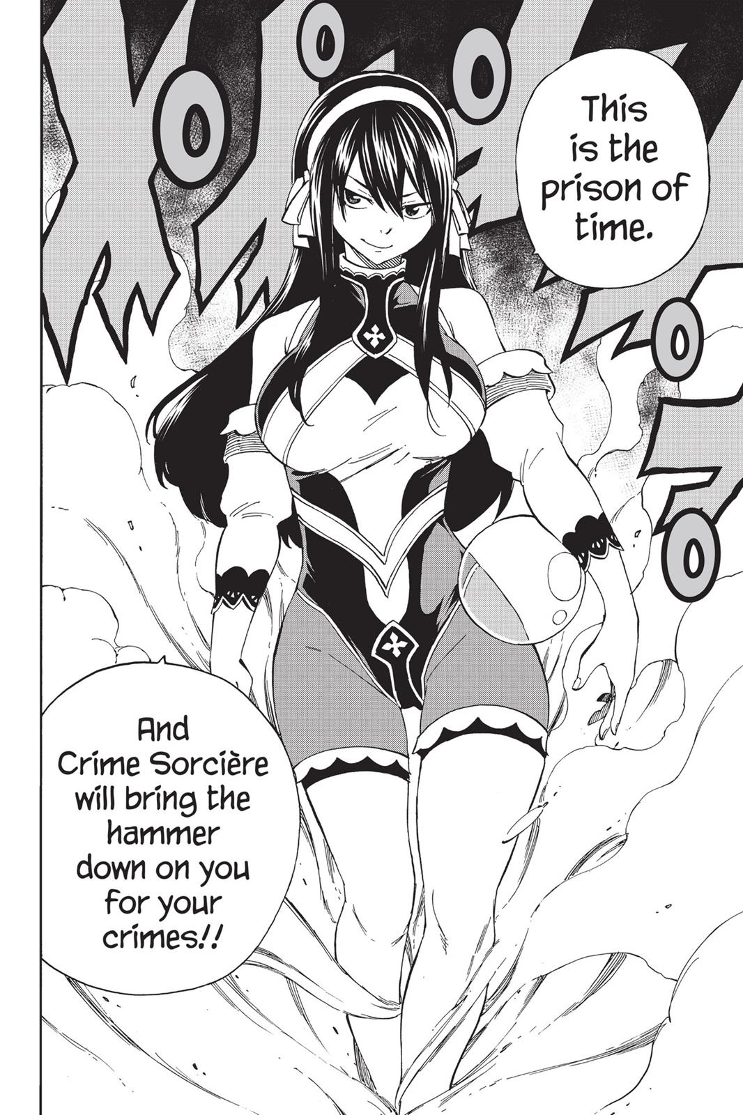 Fairy Tail chapter 474 - Ultear Milkovich, the time traveller