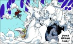 One Piece chapter 681 - Monet blocks Luffy's punch and protects Caesar