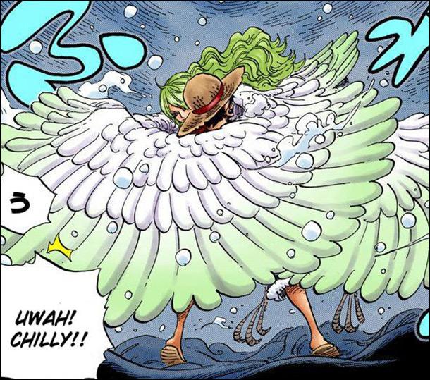 One Piece chapter 683 - Yuki-onna