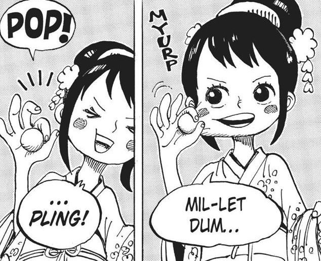 One Piece chapter 911 - Tama is introduced
