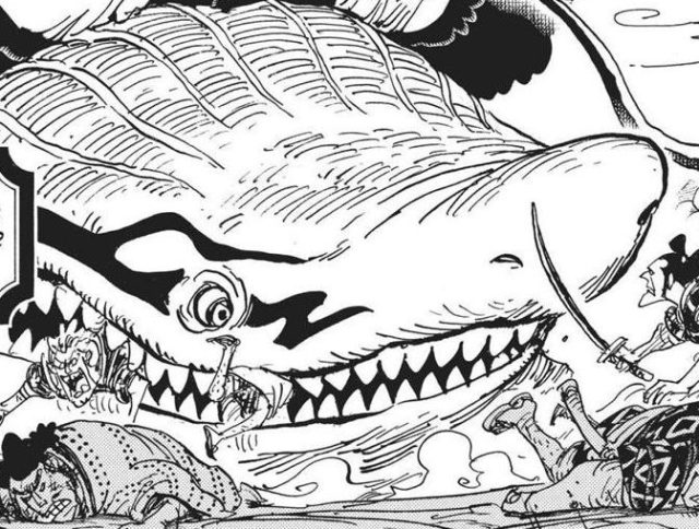 One Piece chapter 921 - Wanizame