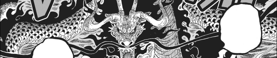 One Piece chapter 921 - Kaido's Dragon form