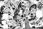One Piece chapter 932 - Orochi's Yamata no Orochi form