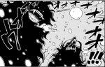 One Piece chapter 990 - Inuarashi and Nekomamushi transform into their Sulong forms
