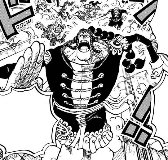 One Piece chapter 994 - Apoo runs away with the Ice Oni antidote