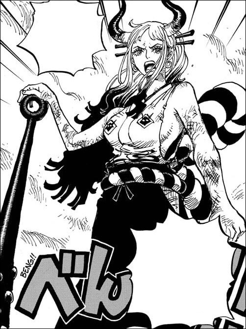 One Piece chapter 994 - Yamato determined to protect the Kozuki clan