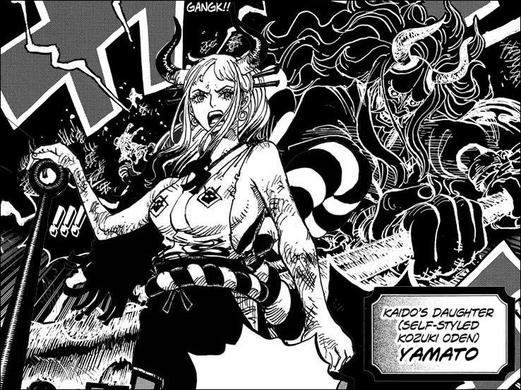 One Piece - Kaido's daughter, Yamato