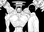 Kaiju No.8 chapter 21 - Monster #9 changes their appearance