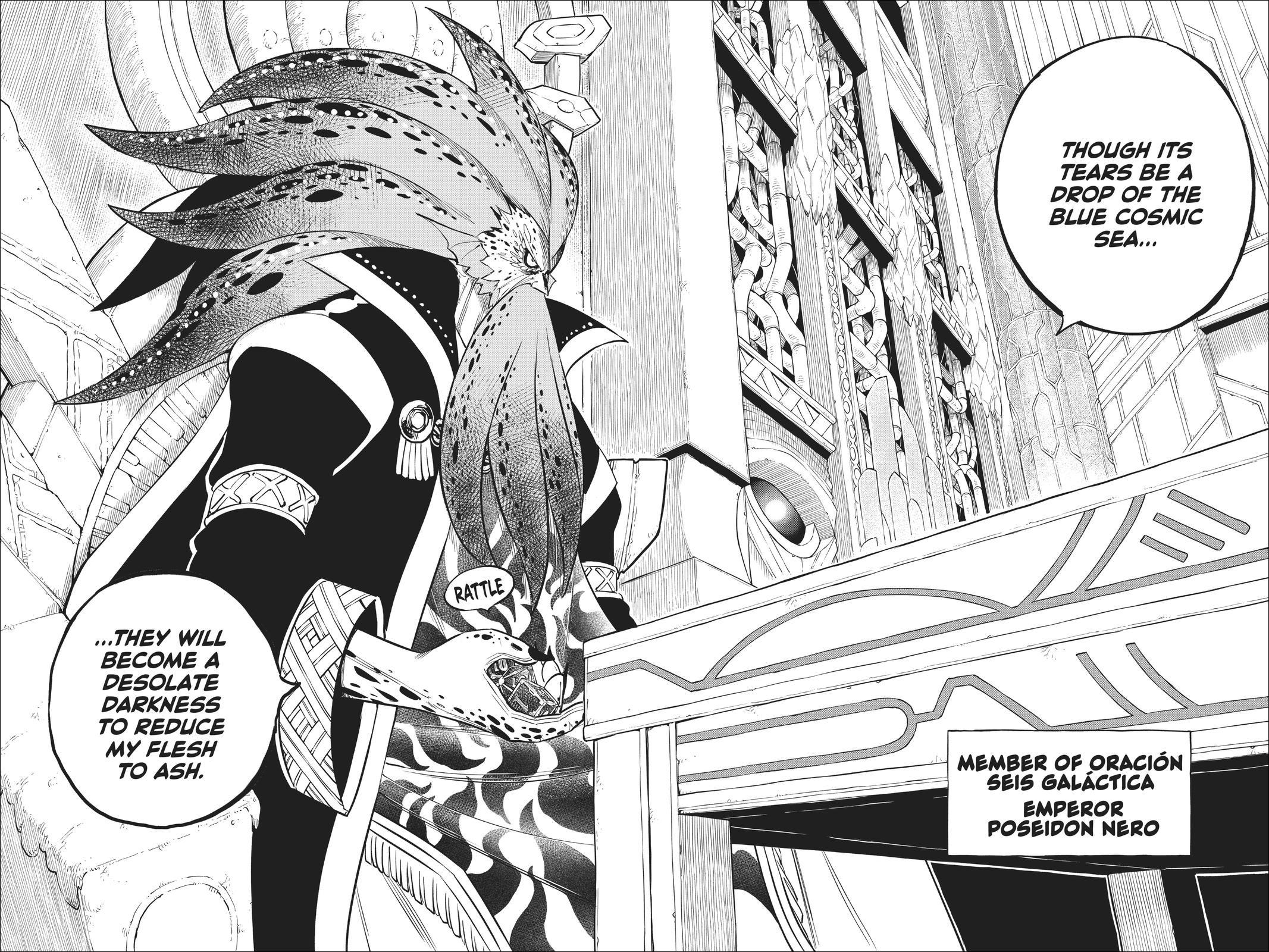 Edens Zero chapter 130 - Emperor Poseidon Nero