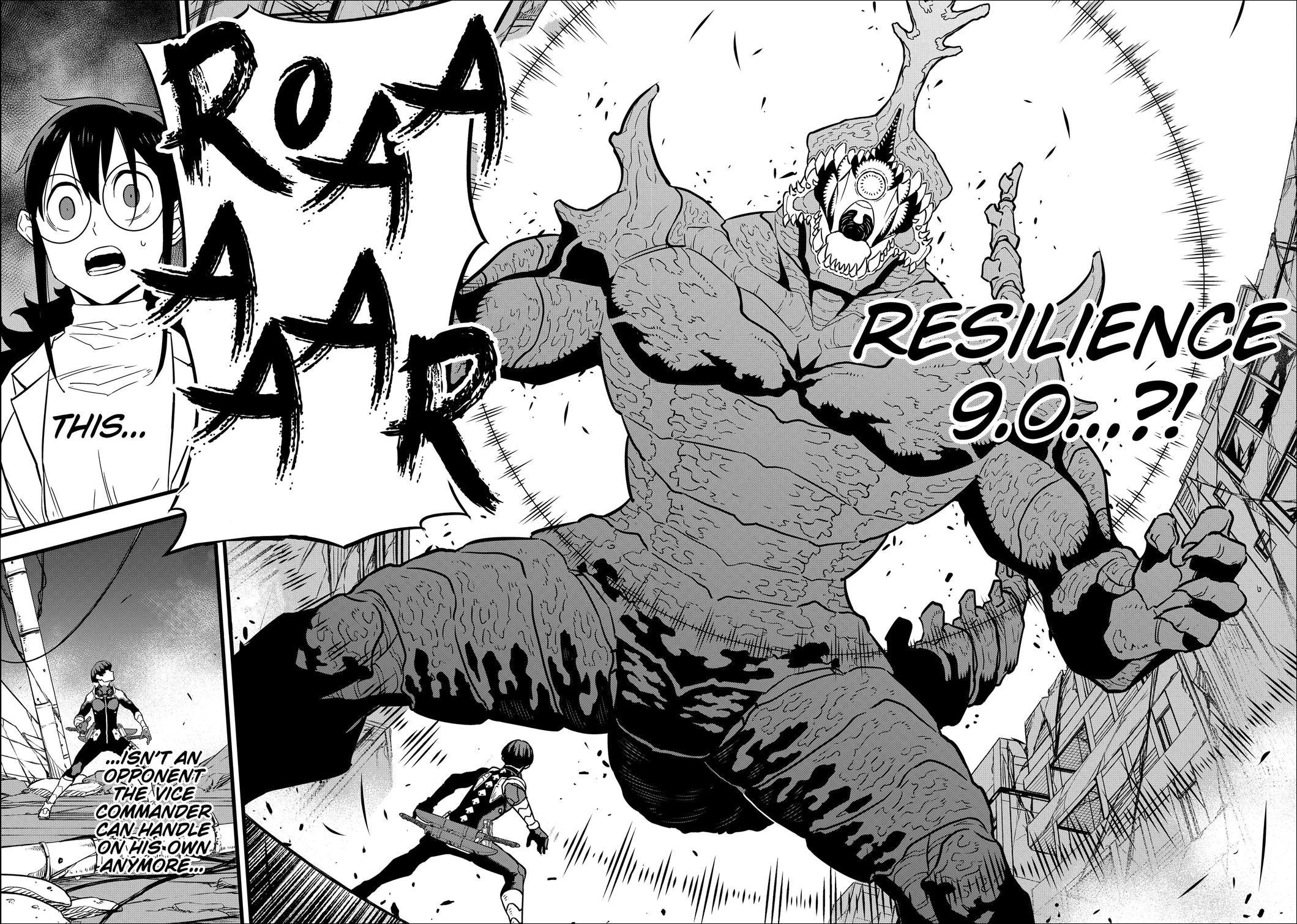Kaiju No.8 Chapter 28 - Kaiju No.10 Transforms