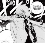 Edens Zero chapter 139 - Eraser using his ether abilities to erase the enemies
