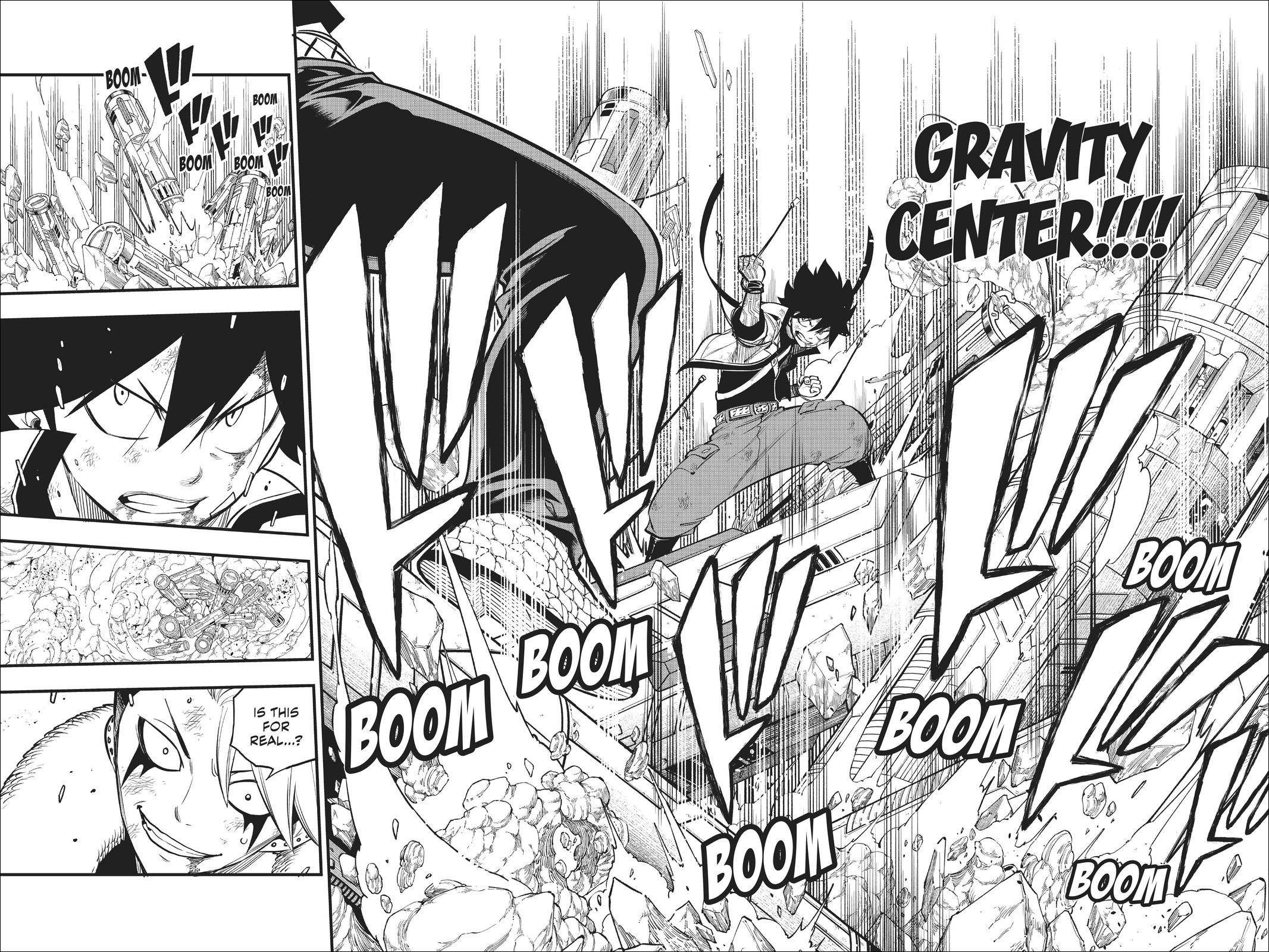 Edens Zero chapter 142 - Shiki nullifies Shura's control over the space ship debris