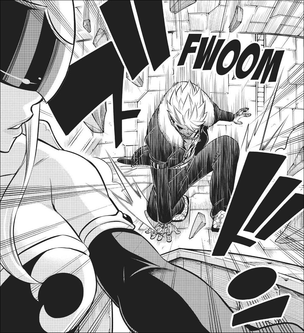 Edens Zero chapter 143 - Shura attacks the Edens Zero to get back at Shiki