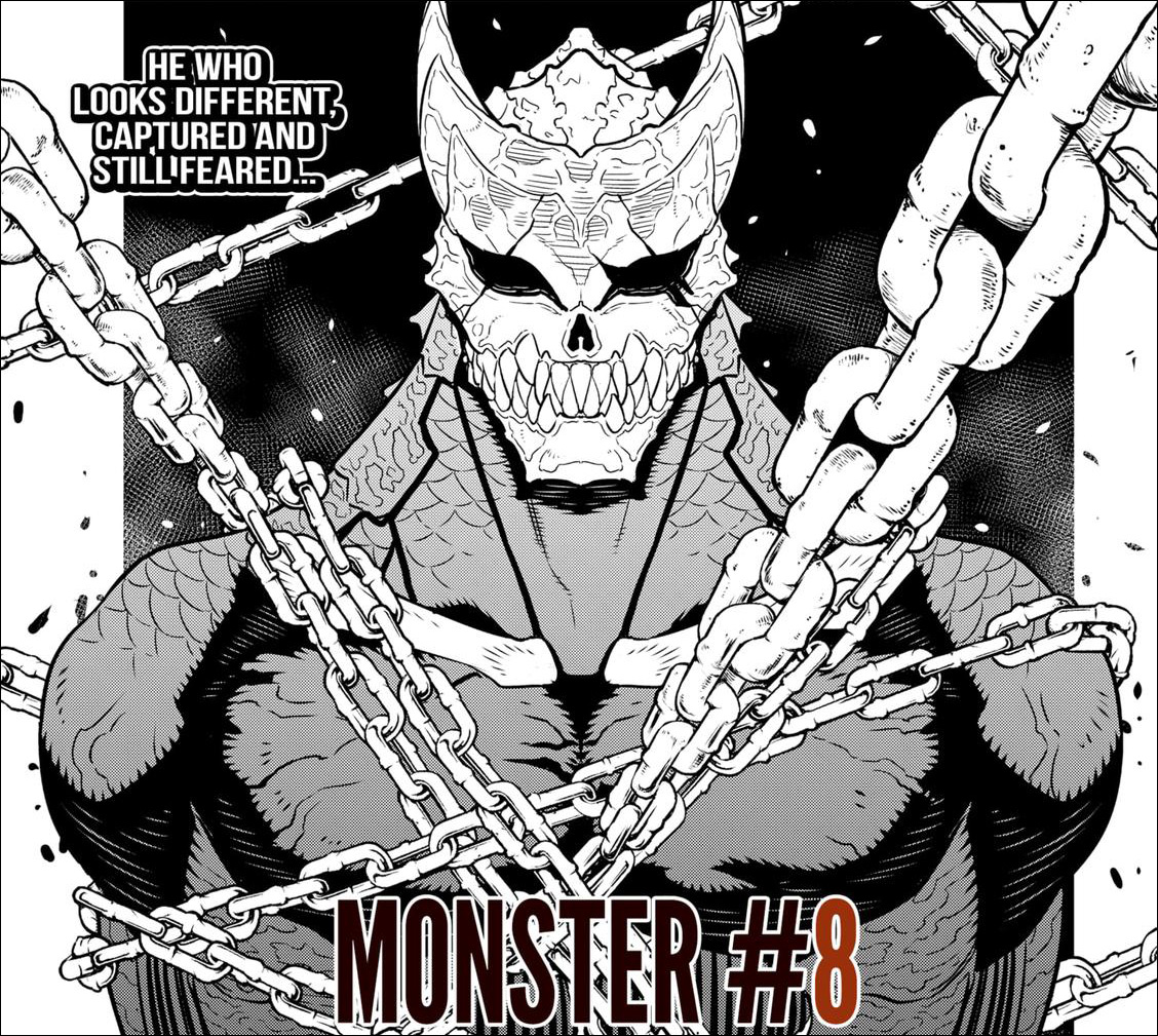 Kaiju No.8 Chapter 34 - Kafka detained by the Defense Force