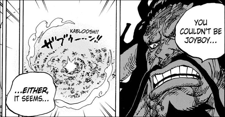 One Piece chapter 1014 - Kaido knows about Joy Boy