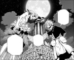 Dr Stone chapter 198 - Senku and Xeno work together reach Why-man on the Moon