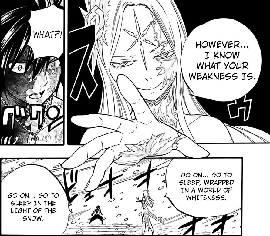 Fairy Tail: 100 Years Quest Chapter 84 - Hakune uses Mugen Setsugekka on Gray