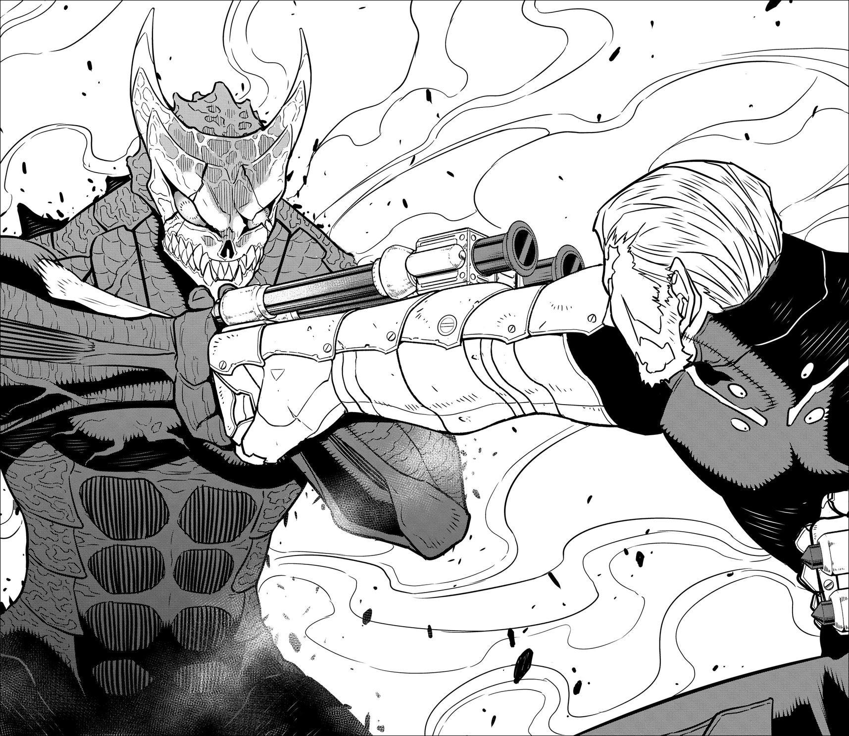 Kaiju No.8 Chapter 36 - Monster #8 awakened