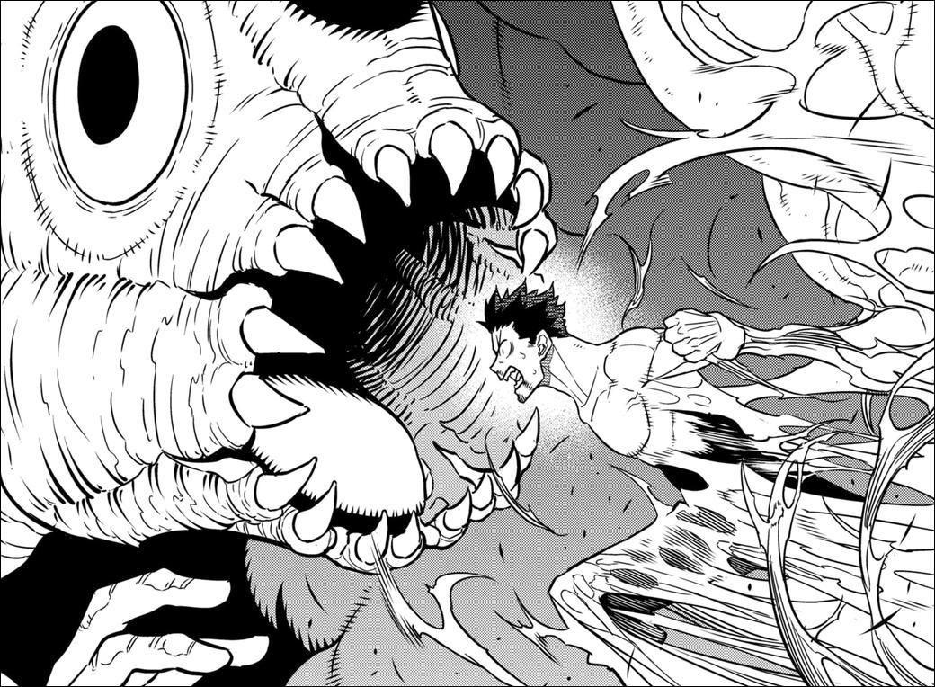 Kaiju No. 8 chapter 37 - Kafka is consumed by his Kaiju's rage