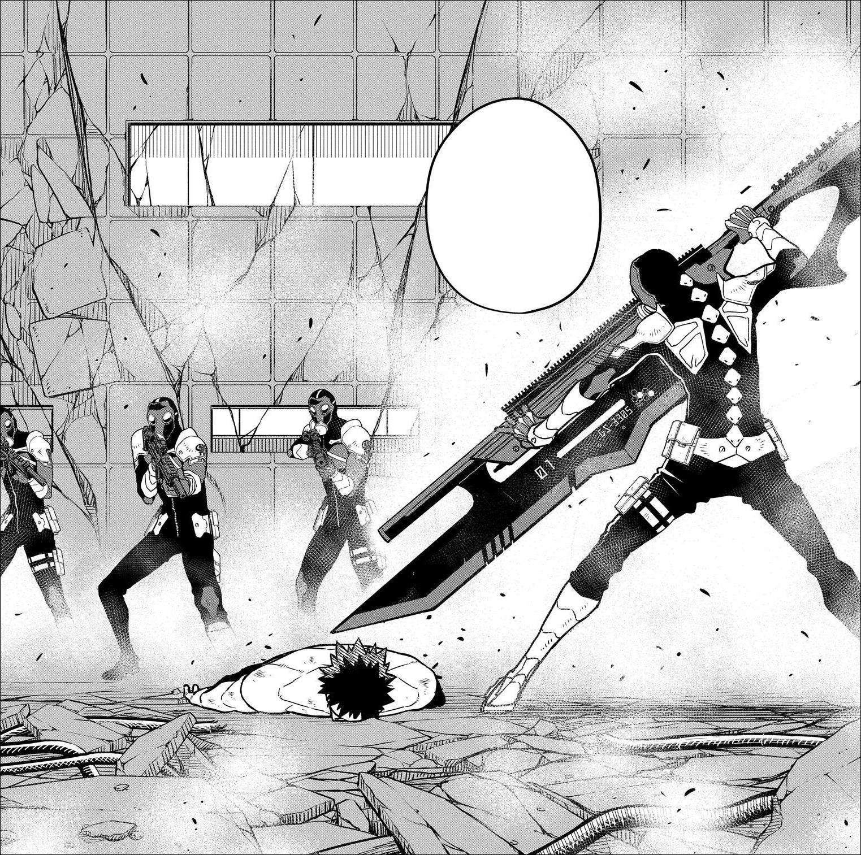Kaiju No. 8 chapter 38 - Monster #1 Weapon user - Okonogi
