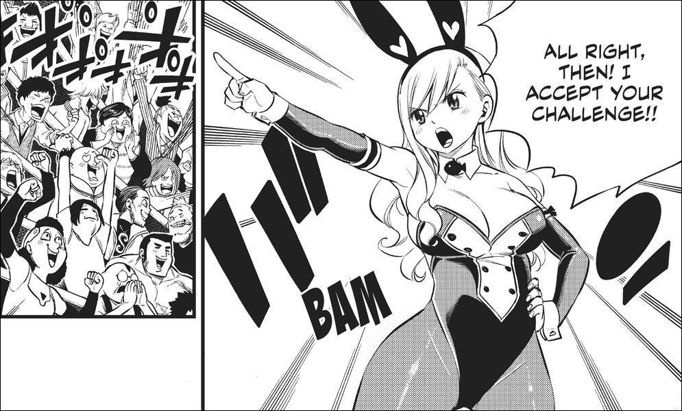 Edens Zero chapter 151 - Rebecca accepts Lyra's challenge
