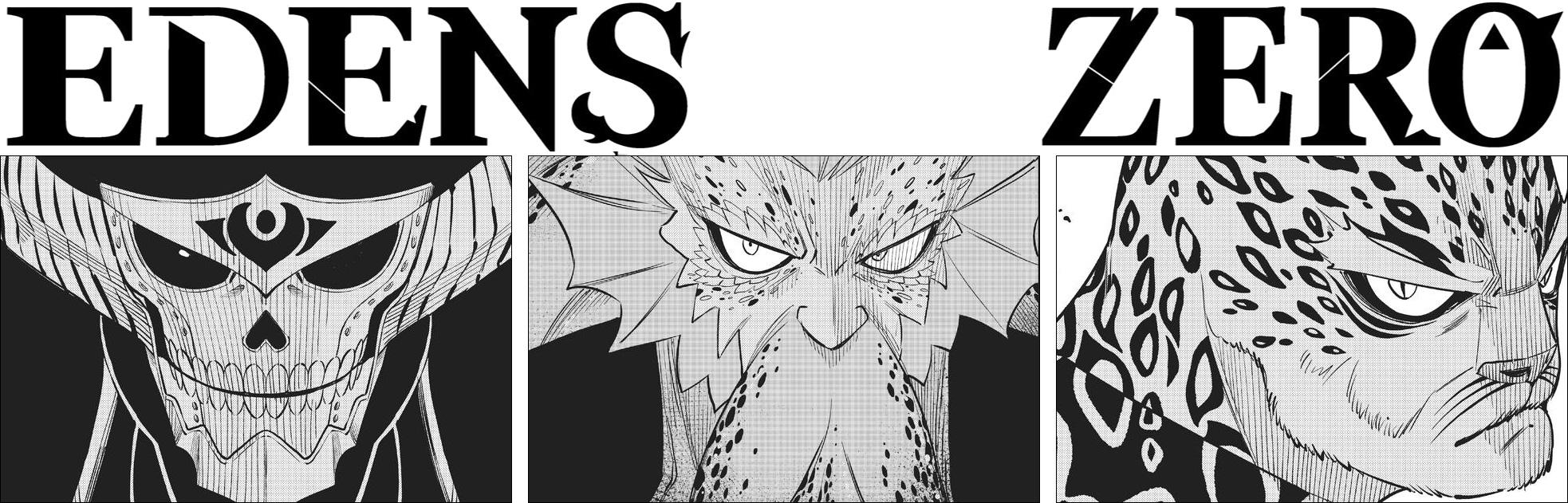 Edens Zero chapter 156 - Ziggy, Nero and Jaguar face off