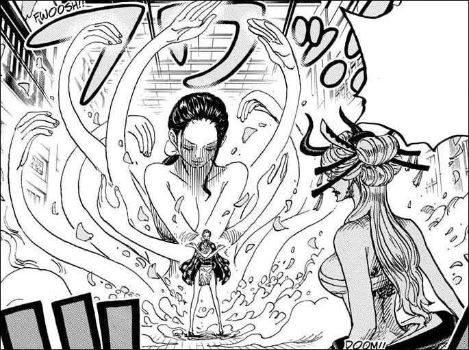 One Piece Chapter 1020 - Robin VS Black Maria