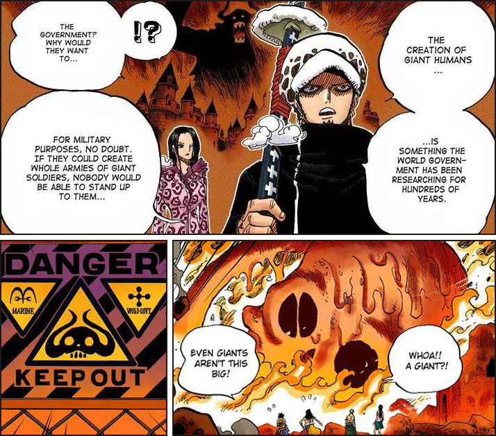 One Piece - The Ancient Giants and Punk Hazard