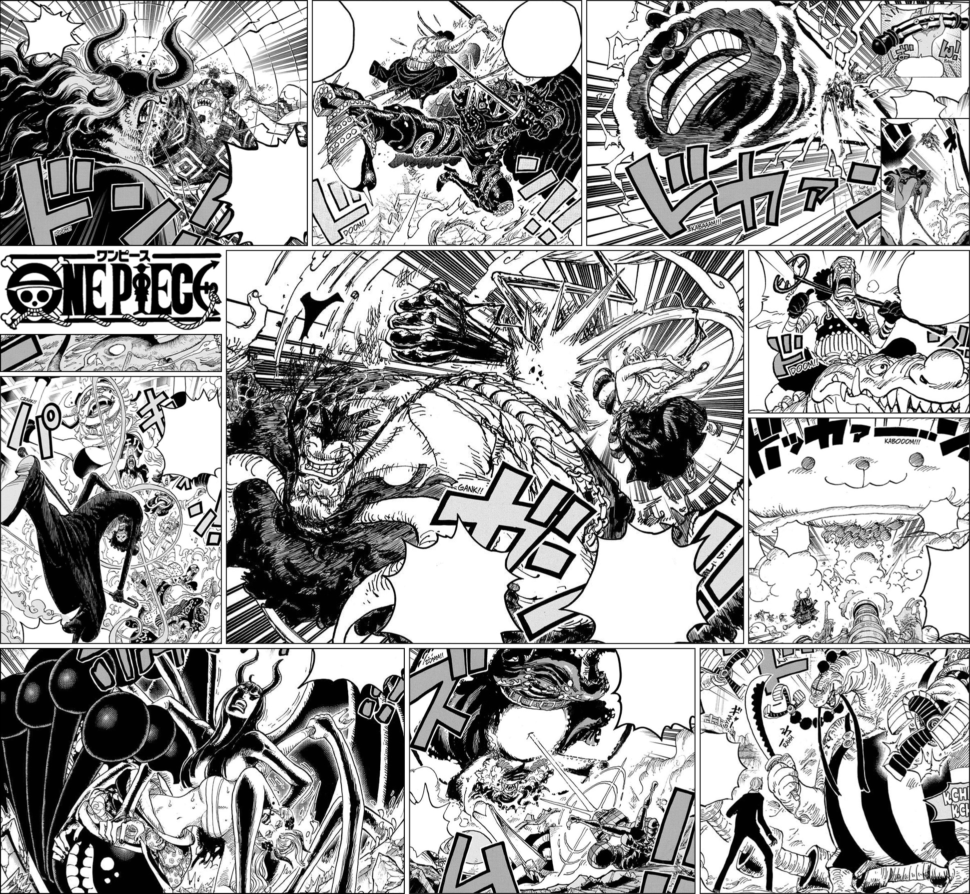 One Piece Onigashima - Straw Hat Pirates VS Beast Pirates