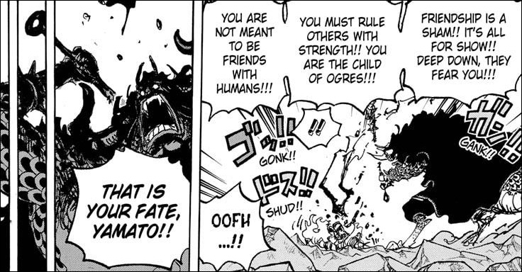 One Piece Chapter 1025 - The Blood of Oni