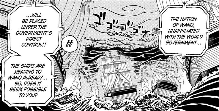 One Piece Chapter 1028 - The World Government moves to claim Wano