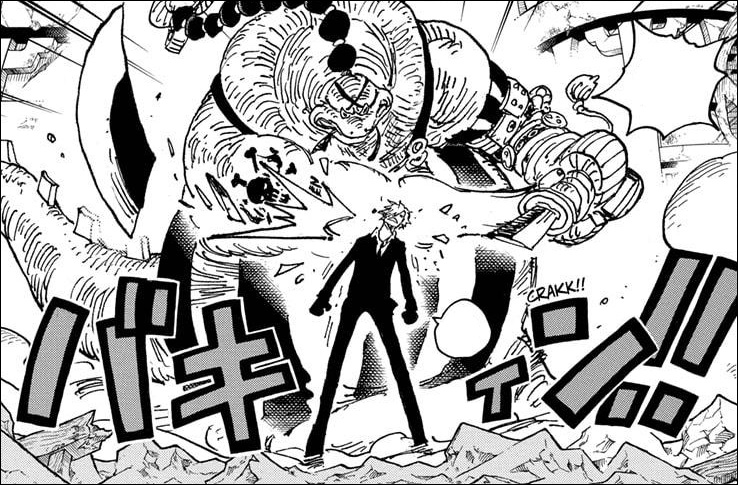 One Piece Chapter 1028 - Sanji undergoes a conversion